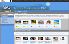 Rocky Mountain PBS Streaming Previews