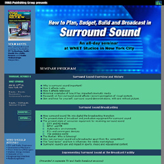 Surround Sound Seminar: Seminar Program